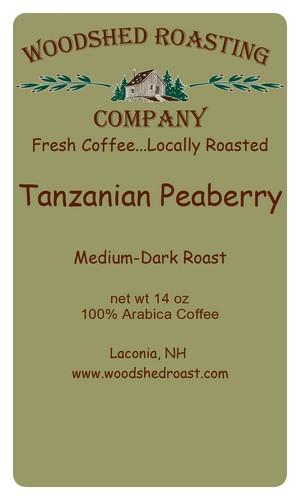 Tanzania Peaberry Ruvuma Region - Coffee Bean Corral