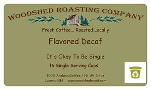 Single Serve Cups - Flavored Decaf